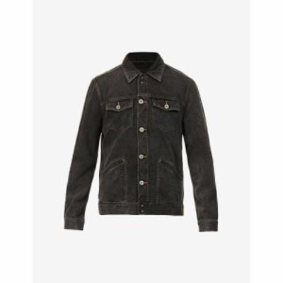 ペイジ PAIGE メンズ ジャケット Gジャン アウター Claiborne faded denim jacket Black Breeze