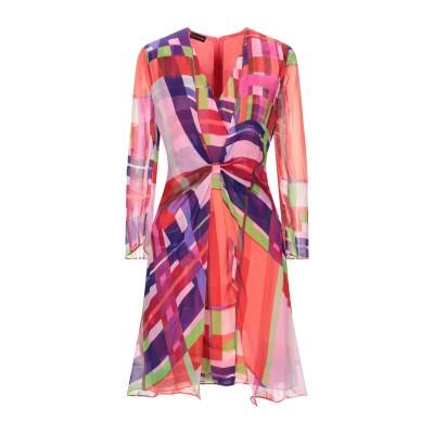 エンポリオ アルマーニ EMPORIO ARMANI ミニワンピース&ドレス フューシャ 40 シルク 100% ミニワンピース&ドレス