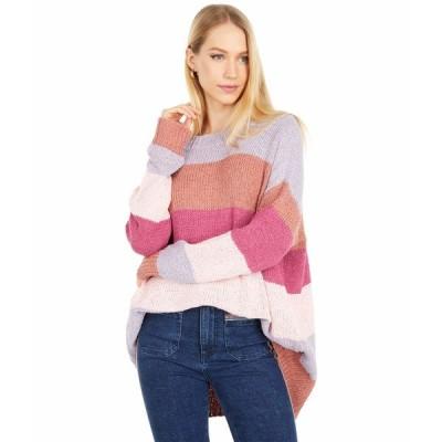 ウミーユアムーム ニット&セーター アウター レディース Woodsy Sweater Sunset Stripe Knit