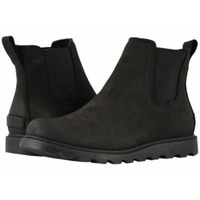 SOREL ソレル レディース 女性用 シューズ 靴 ブーツ チェルシーブーツ アンクル Ainsley(TM) Chelsea Black【送料無料】