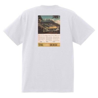 アドバタイジング ビュイック 249 白 Tシャツ 1959 エレクトラルセーブル インビクタ スカイラーク ローライダー