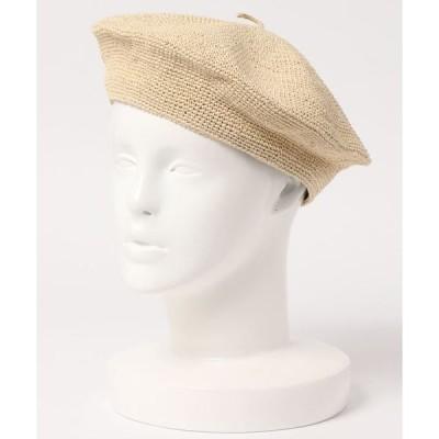 帽子 ペーパーベレー