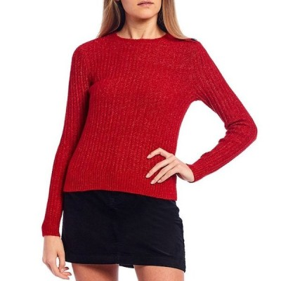 カッパーキー レディース パーカー・スウェット アウター Shoulder Button Detail Cable Knit Sweater
