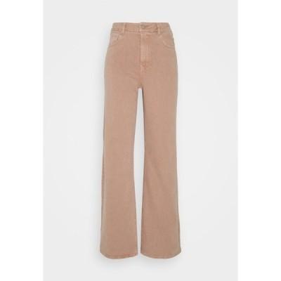 キャリン ウェスター カジュアルパンツ レディース ボトムス CINDY - Flared Jeans - pink