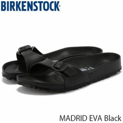 送料無料 ビルケンシュトック サンダル レディース マドリッド MADRID EVA 旅行 おしゃれ ブラック 幅狭 ナロー 歩きやすい 女性用 BIRKE