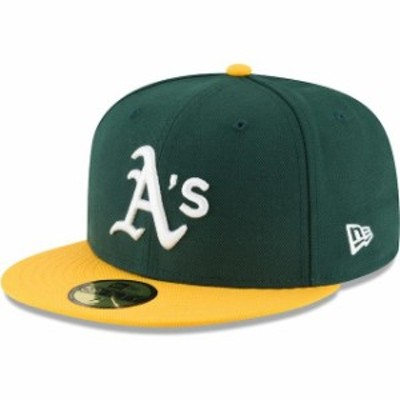 New Era ニュー エラ スポーツ用品  New Era Oakland Athletics Green Team Local 59FIFTY Fitted Hat