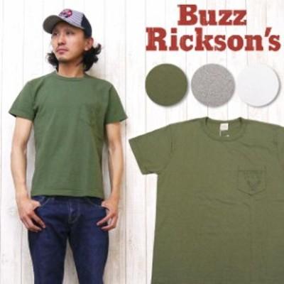 バズリクソンズ Buzz Ricksons 半袖 Tシャツ ポケット ヴィンテージ スラブ GEORGE A.F.BASE br76950