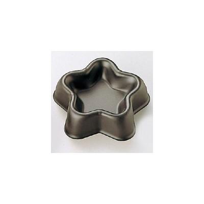 Black ブラックセラコン フルーツケーキ型 星 No.5070