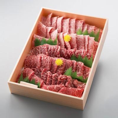 万葉 極上近江牛焼肉セット(モモ・バラ)計800g