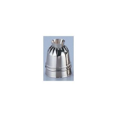 真鍮製ダブル口金 菊型 ヘソ高 WKT80001