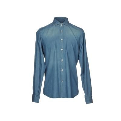 DOMENICO TAGLIENTE デニムシャツ ブルー 41 コットン 100% デニムシャツ