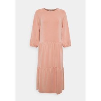 エスオリバー レディース ワンピース トップス Day dress - blush blush