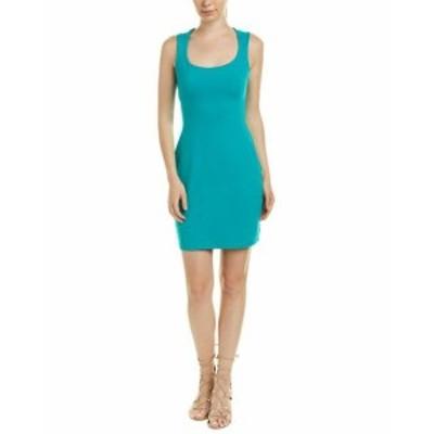 Susana Monaco スサナモナコ ファッション ドレス Susana Monaco Scoop Sheath Dress M Green