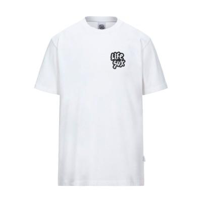 LIFE SUX T シャツ ホワイト M コットン 100% T シャツ