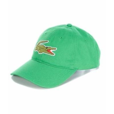ラコステ メンズ 帽子 アクセサリー Big Croc Logo Hat Bright Green