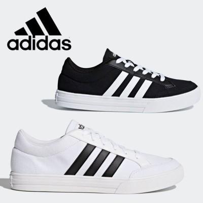 期間限定お買い得プライス アディダス シューズ ADISET U CFQ07 メンズ 靴 くつ スニーカー 黒靴 黒スニーカー ブラック 白靴 白スニーカー ホワイト