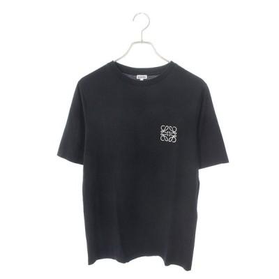 ロエベ LOEWE 17145202107 サイズ:XS アナグラムロゴ刺繍Tシャツ 中古 SB01