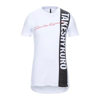 タケシ クロサワ TAKESHY KUROSAWA T シャツ ホワイト XL コットン 100% T シャツ