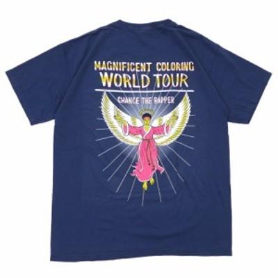 【海外限定】CHANCE THE RAPPER (チャンスザラッパー) MAGNIFICENT TEE (Tシャツ) NAVY 999-005657-057(半袖Tシャツ)