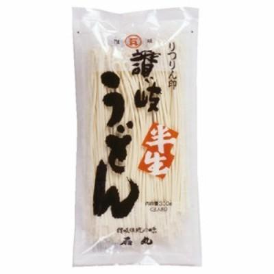 石丸製麺 半生りつりん印讃岐うどん 300g まとめ買い(×10)|4901166002562(tc)