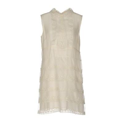 レッド ヴァレンティノ REDValentino ミニワンピース&ドレス アイボリー 40 シルク 100% ミニワンピース&ドレス