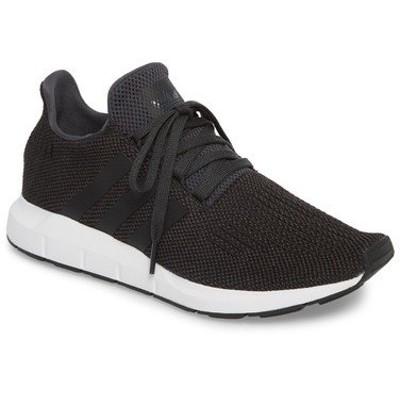 アディダス スニーカー シューズ メンズ Swift Running Shoe Carbon/ Black / Medium Grey