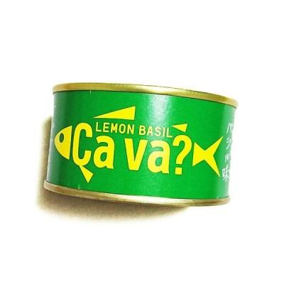 【岩手】サヴァ缶 国産サバのレモンバジル味 170g ca va 東の食の会 三陸フィッシャーマンズプロジェクト