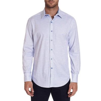 ロバートグラハム メンズ シャツ トップス Men's Russell Broken-Stripe Sport Shirt
