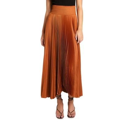 エーエルシー レディース スカート ボトムス Demi Long Pleated Skirt