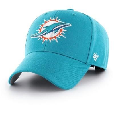 フォーティーセブン 帽子 アクセサリー メンズ '47 Miami Dolphins MVP Cap Neptune