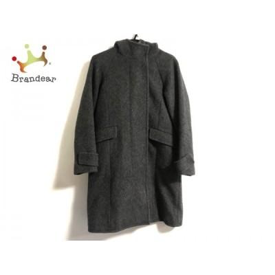 ルシェルブルー LE CIEL BLEU コート サイズ38 M レディース ダークグレー 冬物   スペシャル特価 20210106