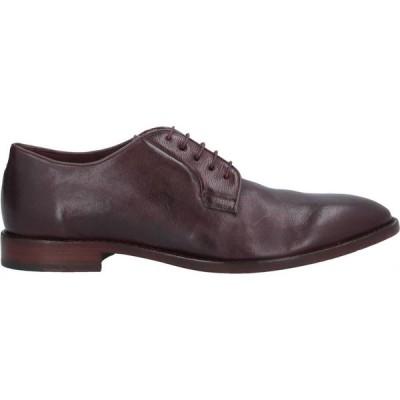 ポールスミス PAUL SMITH メンズ シューズ・靴 laced shoes Maroon