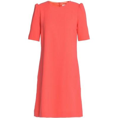 ゴート GOAT ミニワンピース&ドレス コーラル 14 ウール 100% ミニワンピース&ドレス