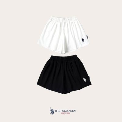 U.S. POLO ASSN.女童寬鬆休閒短褲-兩色任選