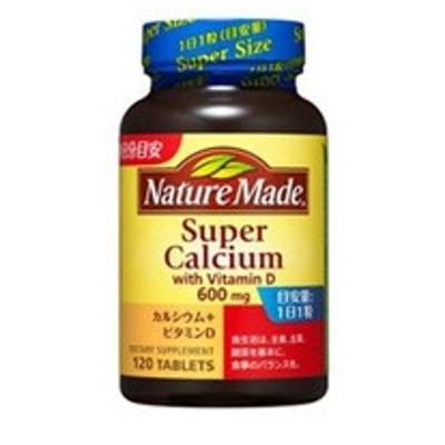 ネイチャーメイド スーパーカルシウム 120粒 大塚製薬 カルシウムサプリ 栄養補助食品 保存料無添加 着色料無添加 カルシウムのサプリ
