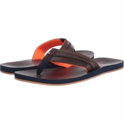 トミー ヒルフィガー Tommy Hilfiger メンズ ビーチサンダル シューズ・靴 Dembo Dark Brown