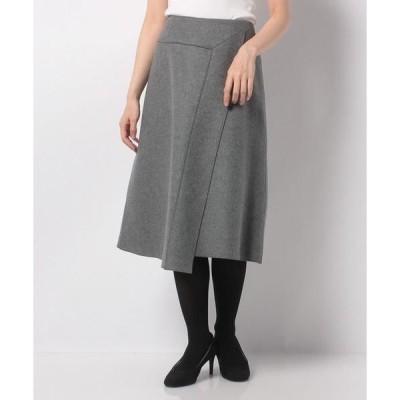 Leilian / レリアン ラップ風スカート