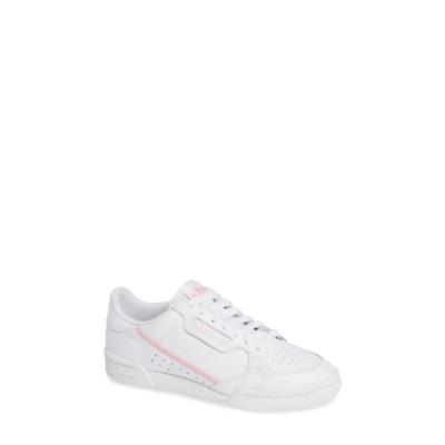 アディダス レディース スニーカー シューズ Continental 80 Sneaker FTWWHT/TRU