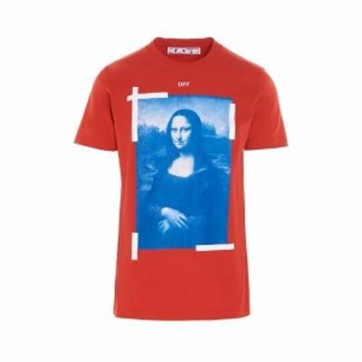 OFF WHITE/オフホワイト Red 'Blue Monalisa' T-shirt メンズ 春夏2021 OMAA027R21JER00225012501 ju
