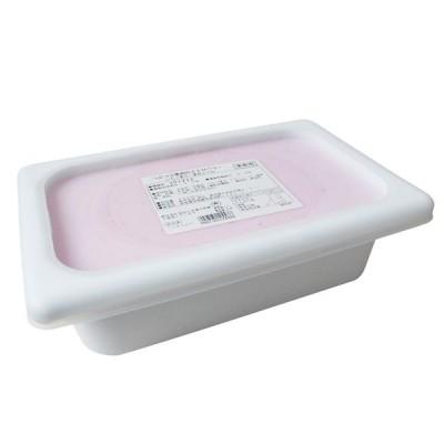 アイスクリーム つぶつぶ果肉のストロベリー いちご果汁・果肉21% 明治 業務用 2000ml
