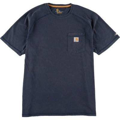 カーハート ワンポイントロゴポケットTシャツ XL /eaa040648
