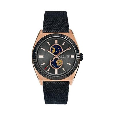 Jason hyde lunatico JH41006 メンズ アナログクォーツ腕時計 ナイロンブレスレット付き