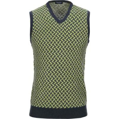 ドルモア DRUMOHR メンズ ノースリーブ トップス Sleeveless Sweater Light green