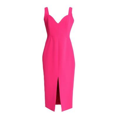 NICHOLAS 7分丈ワンピース・ドレス フューシャ 4 ポリエステル 100% 7分丈ワンピース・ドレス
