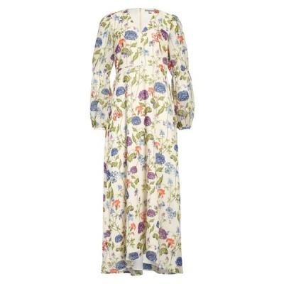 チェルシー28 ワンピース トップス レディース Floral Long Sleeve Maxi Dress White Garden Floral