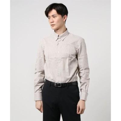 シャツ ブラウス ESTNAION / タブカラーコットンシャツ