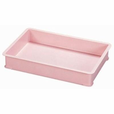 サンコー PPカラー番重 A型 ピンク ABV8503