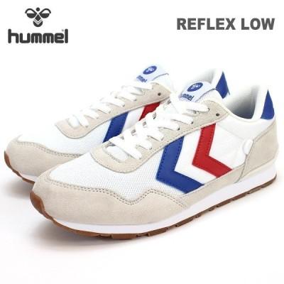 ヒュンメル スニーカー hummel REFLEX LOW HM65307-9001 リフレックスロー レトロラン