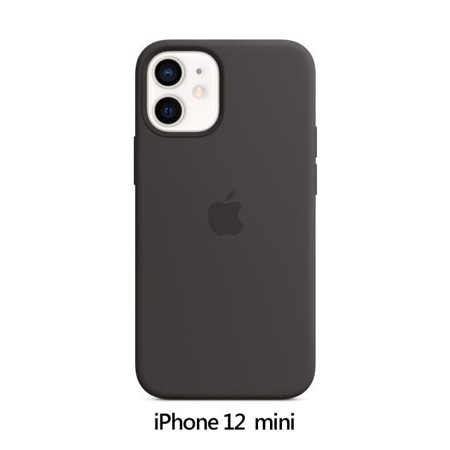 iPhone 12 mini MagSafe 矽膠保護殼 - 黑色 Black (MHKX3FE/A)