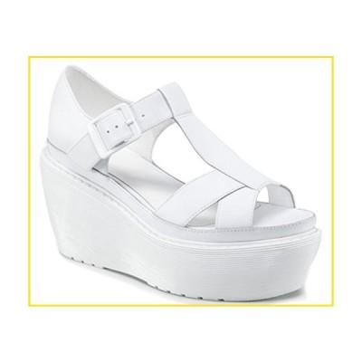 新品Dr. Martens Women's Adaya White Sandals 3 M UK, 5 M並行輸入品